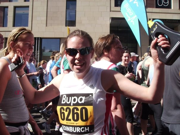 Edinburgh Marathon Running