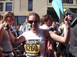 Edinburgh Marathon Running