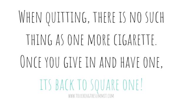 Quitting smoking quote Stop Smoking: Overcoming addictions stockton middlesbrough