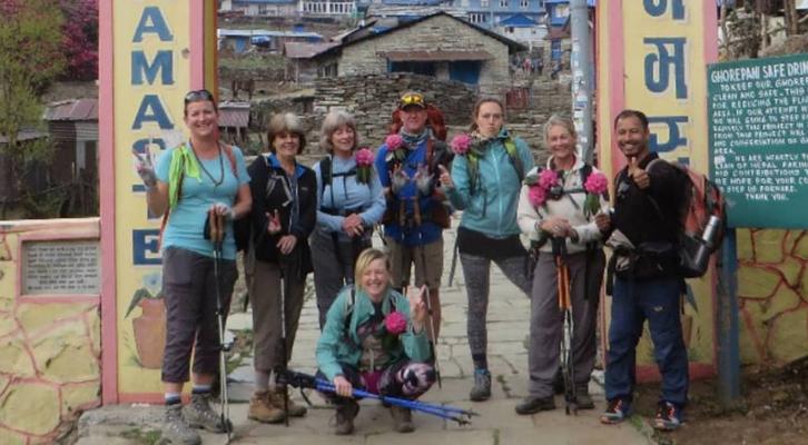 yoga and trekking in Nepal